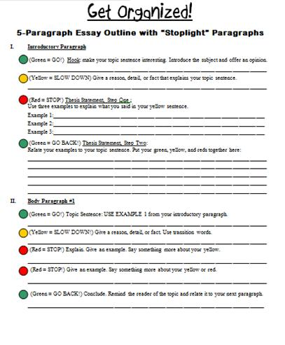 stoplight essay page 1